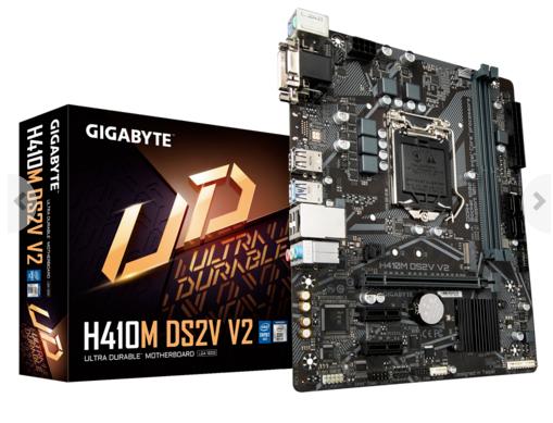 Mainboard Gigabyte GA-H410M-DS2V V2  (DVI/ Dsub)