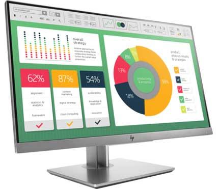 Màn hình vi tính Monitor LCD HP EliteDisplay E233 23 inch 1FH46AA