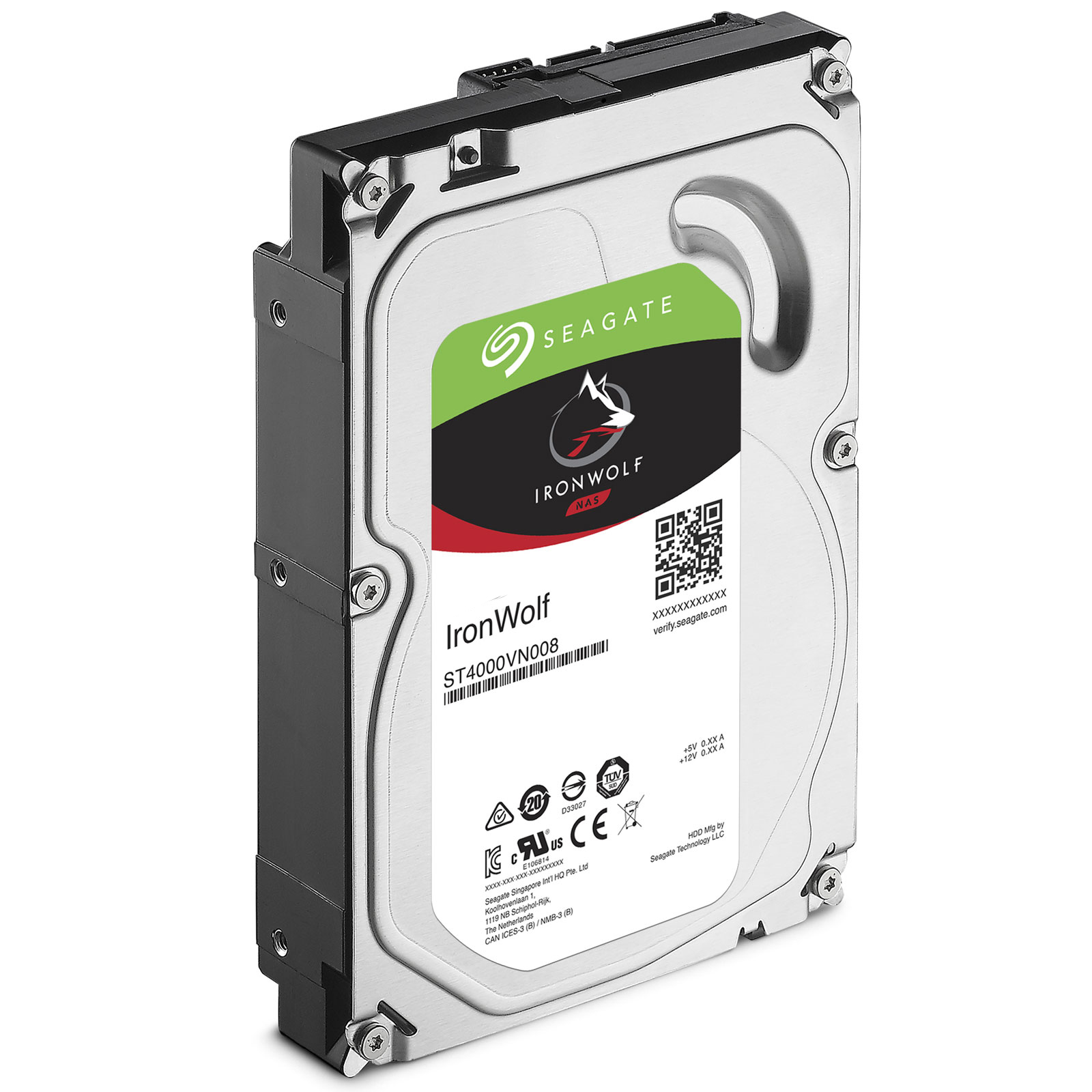 Ổ cứng gắn trong Seagate IronWolf Pro 12TB 7200rpm SATA 3.5