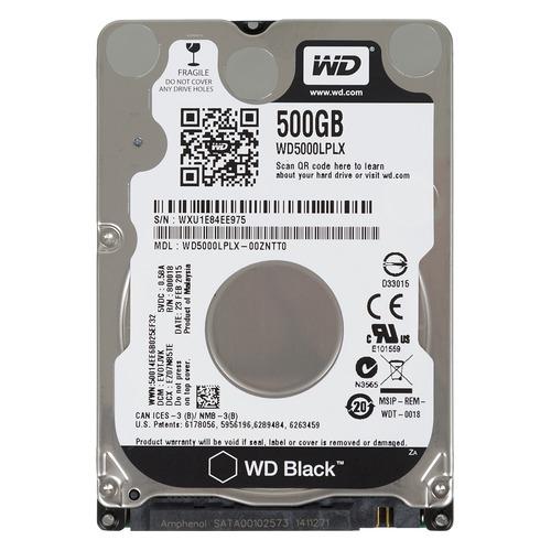 WD HDD Black 1TB 2.5