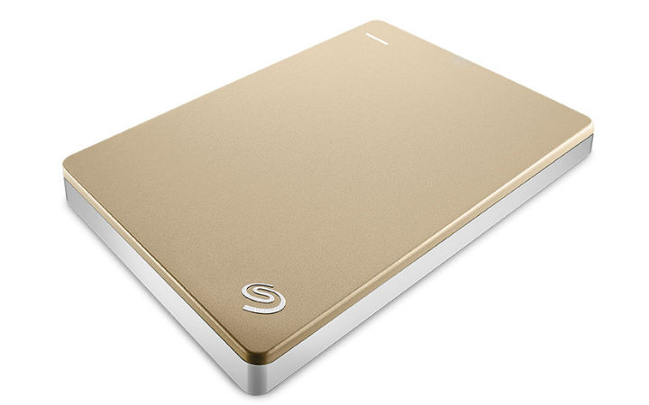 Seagate® Backup Plus Slim Portable Drive 1TB GOLD