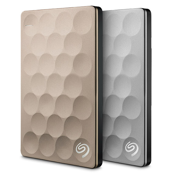 Seagate® Backup Plus Portable Drive 2TB Ultra Slim Platinum