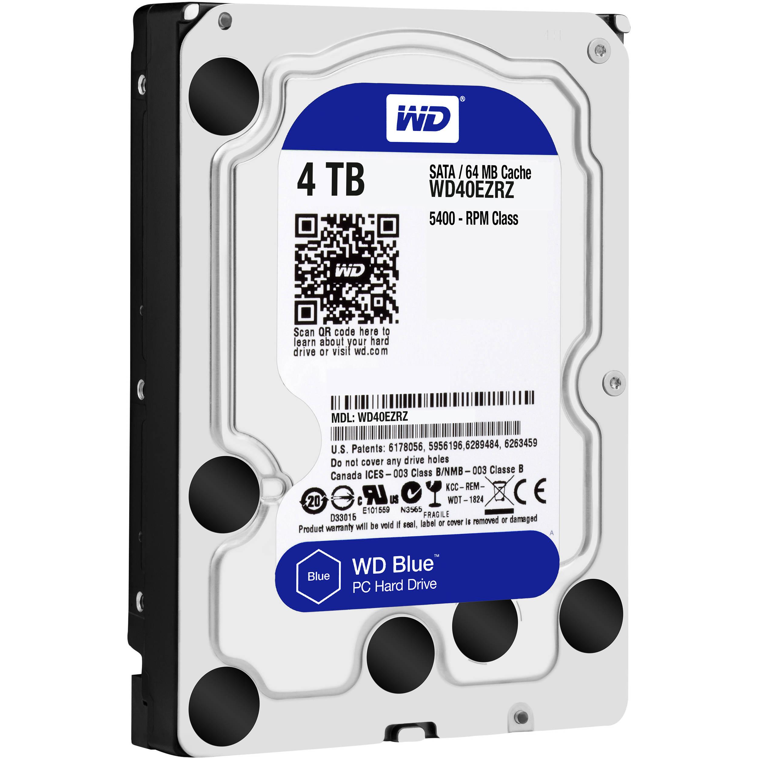 WD HDD Blue 4TB 3.5