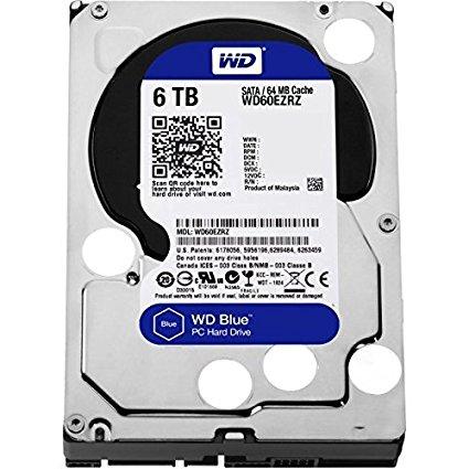 WD HDD Blue 6TB 3.5