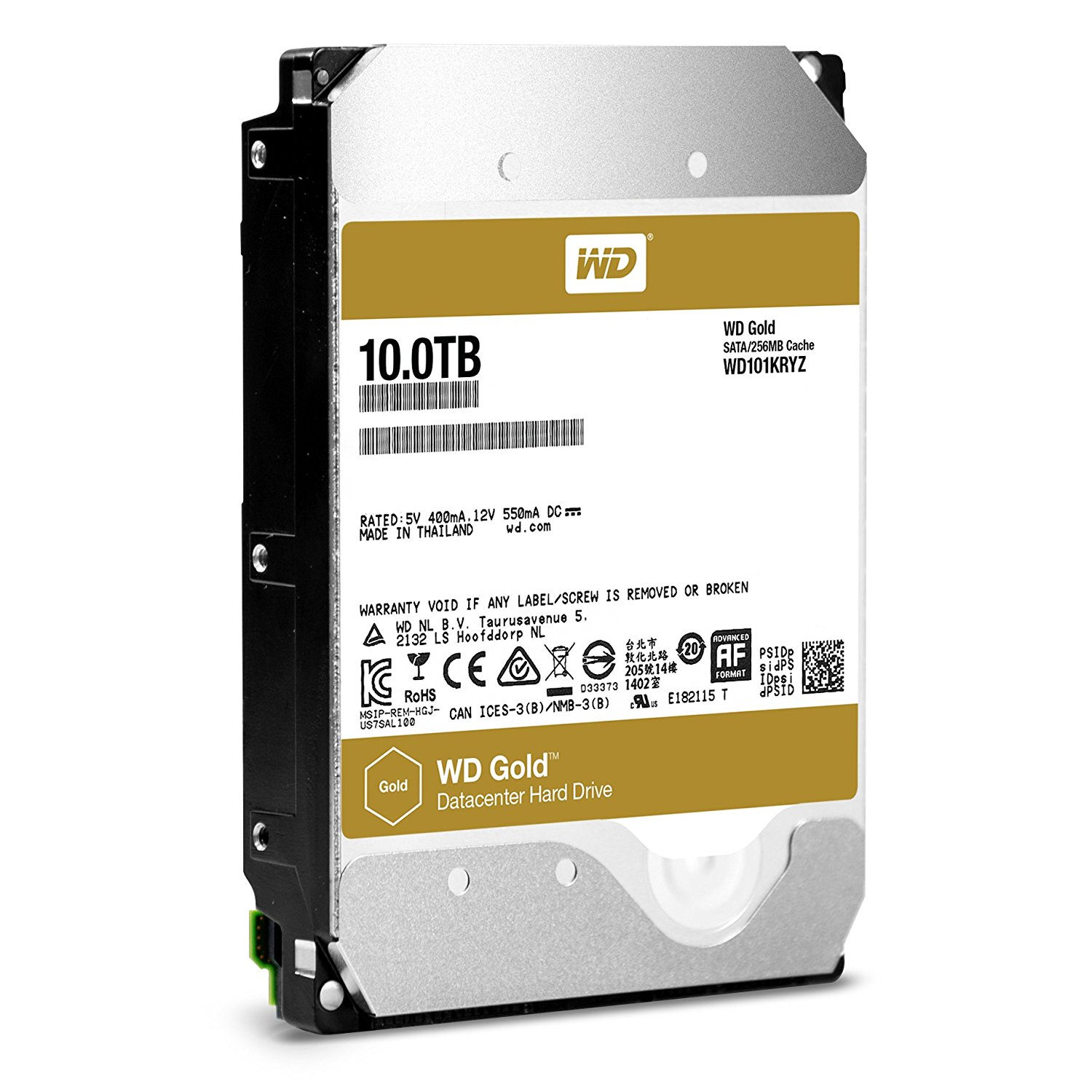 WD HDD GOLD 10TB /3.5
