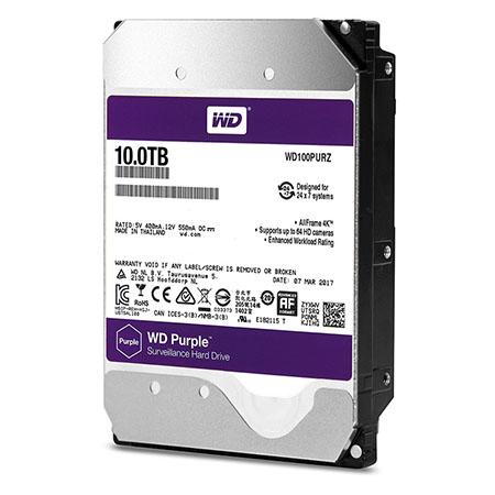 WD HDD Purple 10 TB 3.5