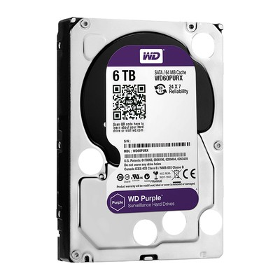 WD HDD Purple 6TB 3.5