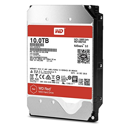 WD HDD Red 10TB 3.5