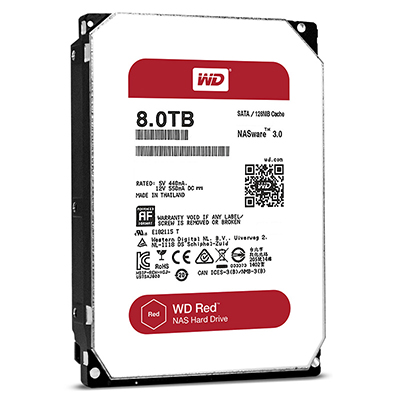 WD HDD Red 8TB 3.5