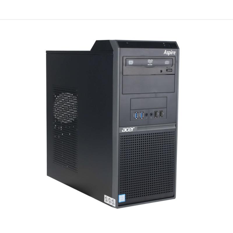 Máy tính để bàn Acer M230, Core i5-8400(2.80 GHz,9MB), 4GBRAM, 1TBHDD, Intel UHD Graphics, USB KB&Mouse, Endless OS, 1Y WTY_UX.VQVSI.145