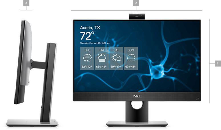 Máy tính tích hợp màn hình Dell Optiplex AIO 7480
