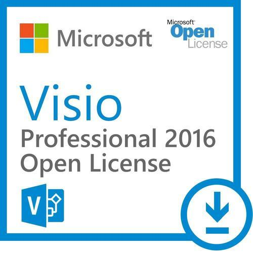 Visio Pro 2016 32-bit/x64 English EM DVD