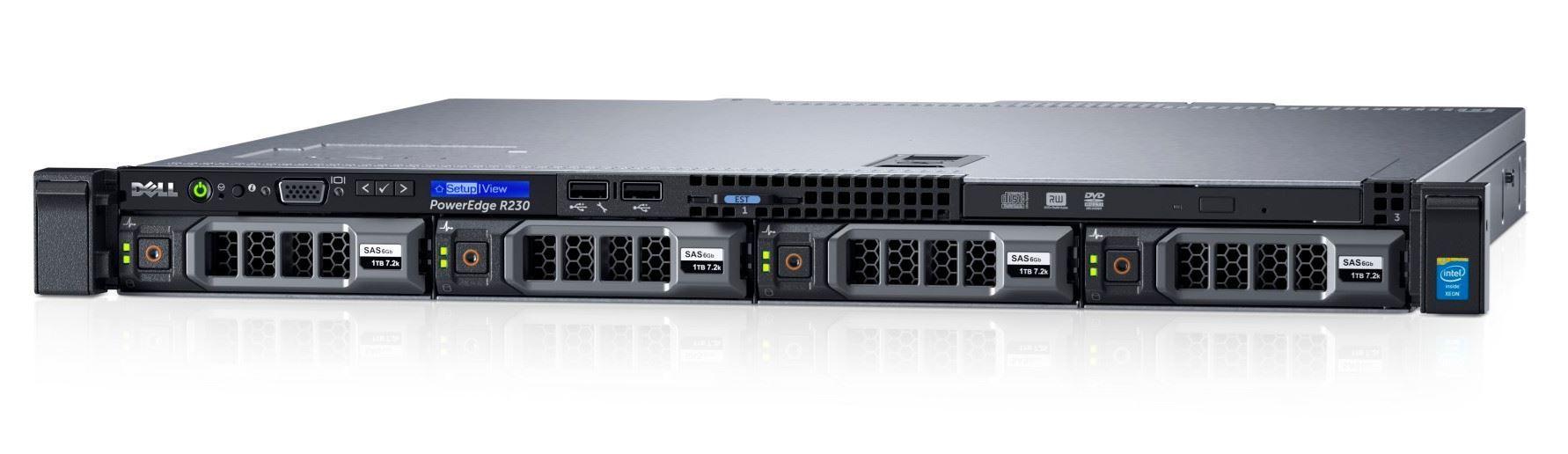 Dell PE R230 (4x3.5