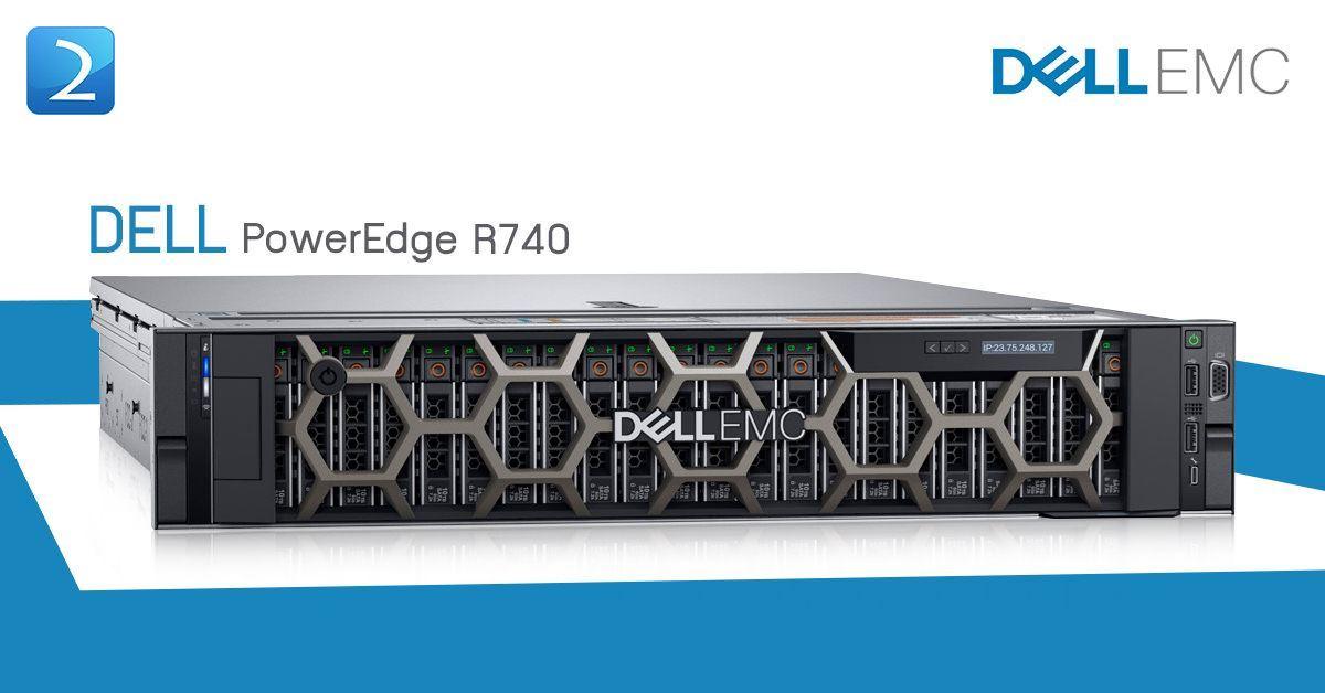 Dell PowerEdge R740 Rack Mount Server (8x2.5
