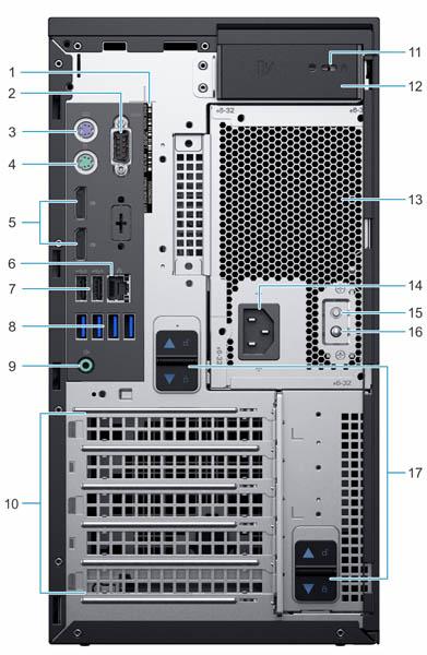 Máy chủ Dell PowerEdge T40 Server (3x3.5