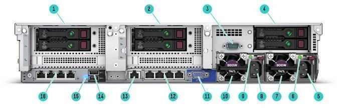 DL380 Gen10 S4214 2.2GHz 1P 12C 16GB, 8SFF, P408i-a SAS/SATA non-HDD, 500W