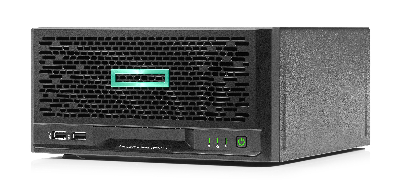 MicroServer Gen10 Plus/ 4LFF Non Hot Plug/ E2224 (3.4GHz/4-core/71W)/ 16GB/ No HDD/ S100i/ 180W PS
