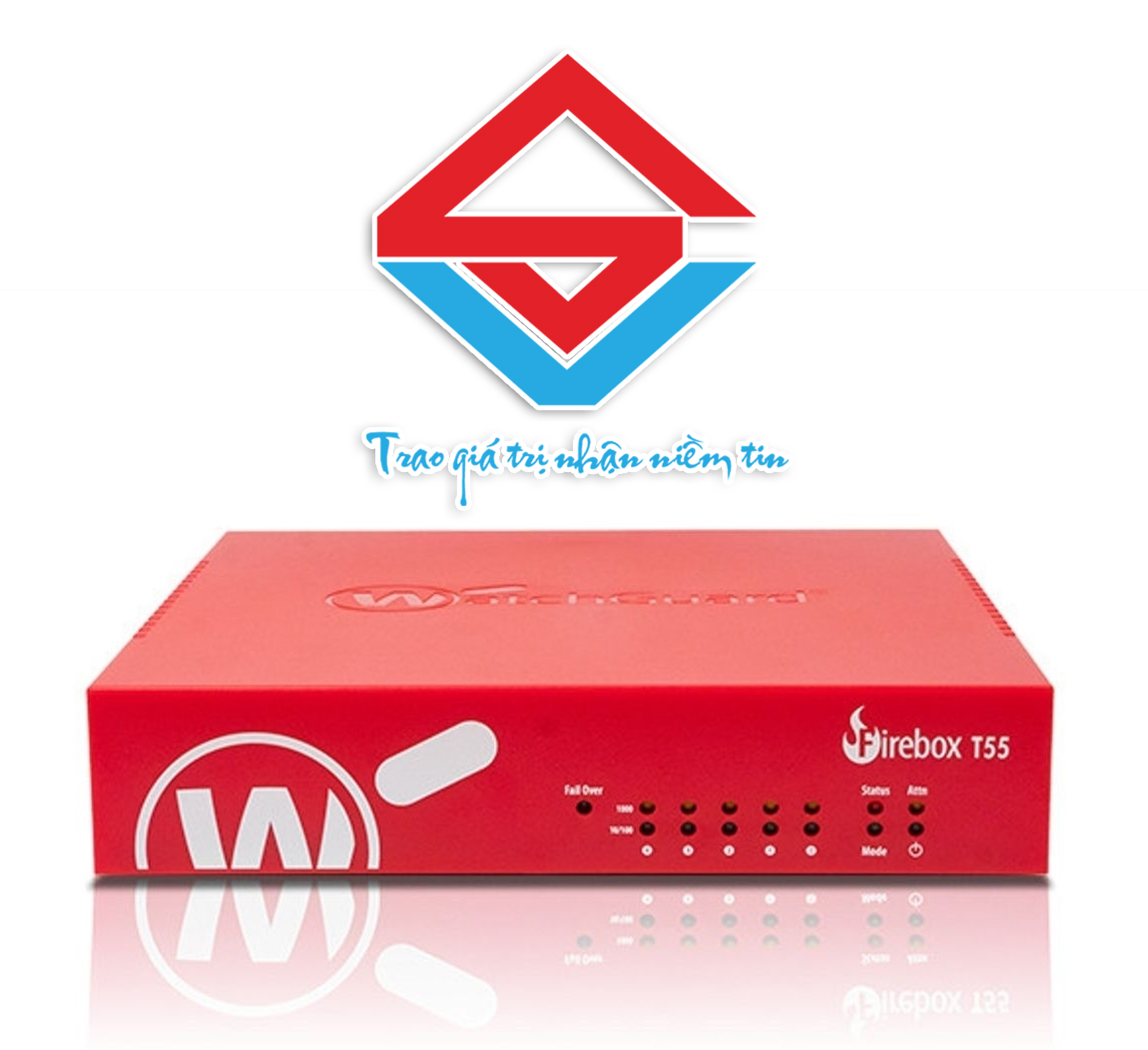 WatchGuard Firebox T55/T55-W