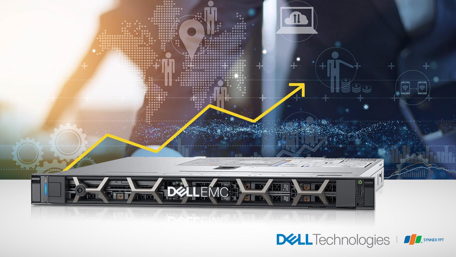 """Máy chủ DellEMC PowerEdge R340 – """"Vũ khí"""" tăng năng suất kinh doanh của mọi doanh nghiệp"""