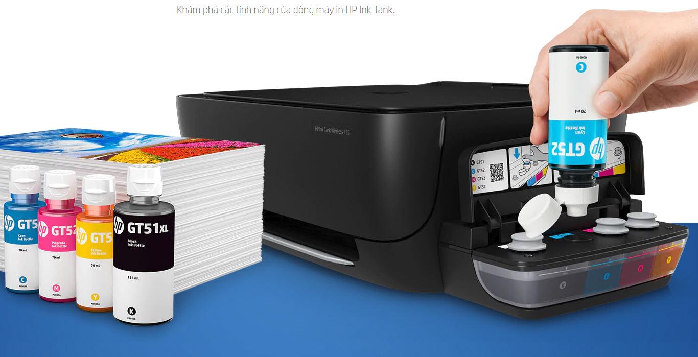 Máy in liên tục HP DeskJet GT 5820 - 5820 In di động từ  bất cứ đâu với  số lượng bản in lớn