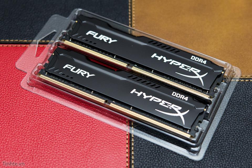 Đánh giá RAM Kingston HyperX Fury DDR4 – Giá mềm, khả năng ép xung cao