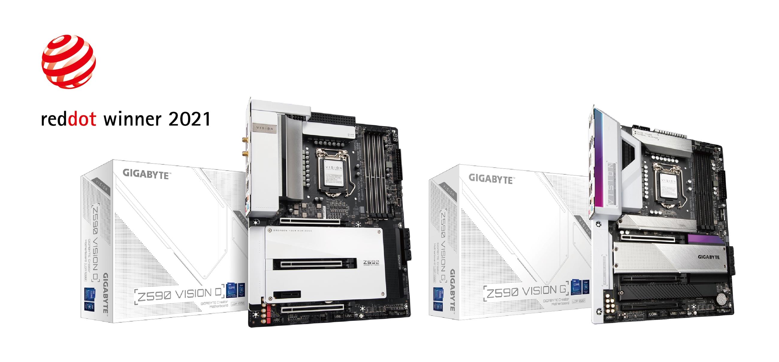 GIGABYTE đoạt giải thiết kế Red Dot hạng mục Bo mạch chủ dành cho nhà sáng tạo nội dung và Card đồ họa chơi game