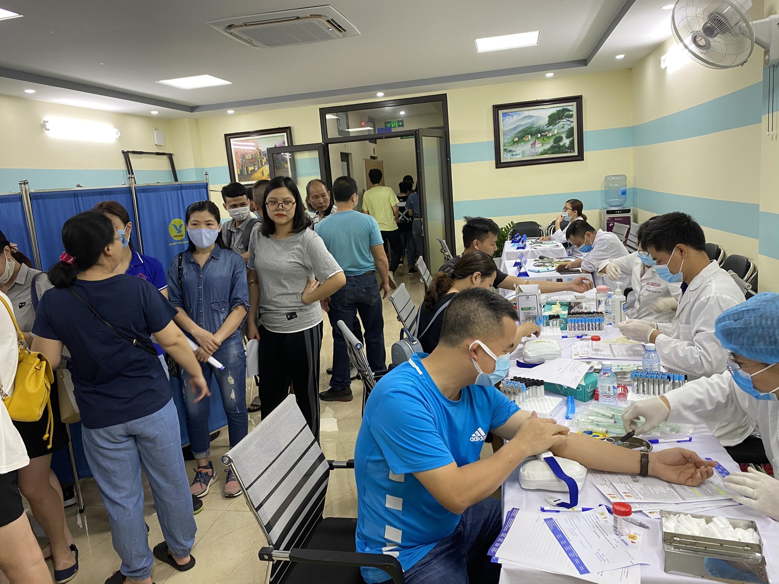 Ngày hội khám sức khỏe định kỳ công ty Siêu Việt